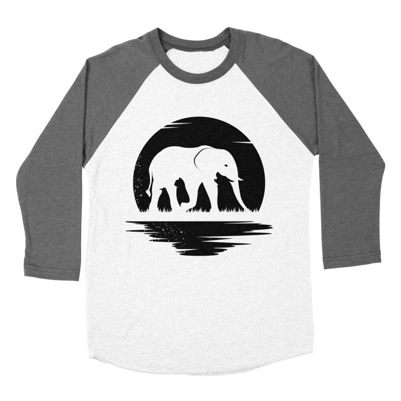 THE HIDDEN WILD SIDE (BLACK) Women's Baseball Triblend T-Shirt by EHELPENT