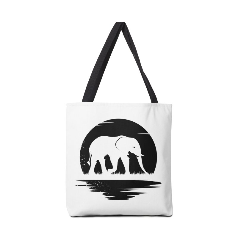 THE HIDDEN WILD SIDE (BLACK) Accessories Bag by EHELPENT