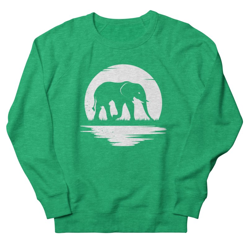 THE HIDDEN WILD SIDE (WHITE) Women's Sweatshirt by EHELPENT