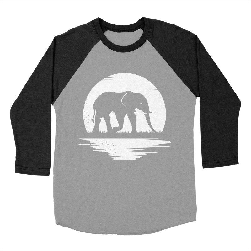 THE HIDDEN WILD SIDE (WHITE) Men's Baseball Triblend T-Shirt by EHELPENT