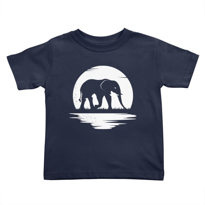 THE HIDDEN WILD SIDE (WHITE) Kids Toddler T-Shirt by EHELPENT