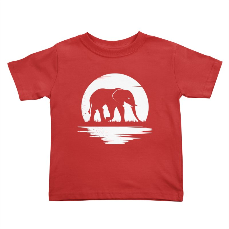 THE HIDDEN WILD SIDE (WHITE) Kids Toddler T-Shirt by EHELPENT