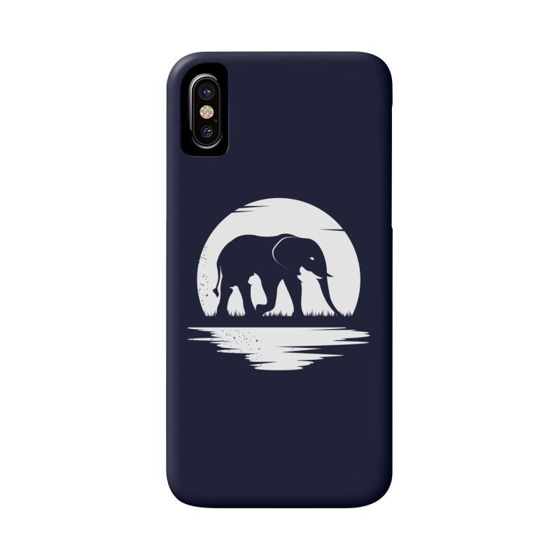 THE HIDDEN WILD SIDE (WHITE) Accessories Phone Case by EHELPENT