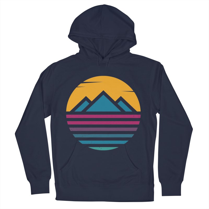 THE SILENT SUNRISE Men's Pullover Hoody by EHELPENT