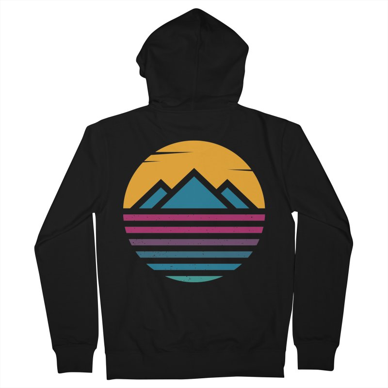 THE SILENT SUNRISE Men's Zip-Up Hoody by EHELPENT