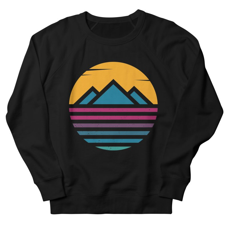 THE SILENT SUNRISE Men's French Terry Sweatshirt by EHELPENT