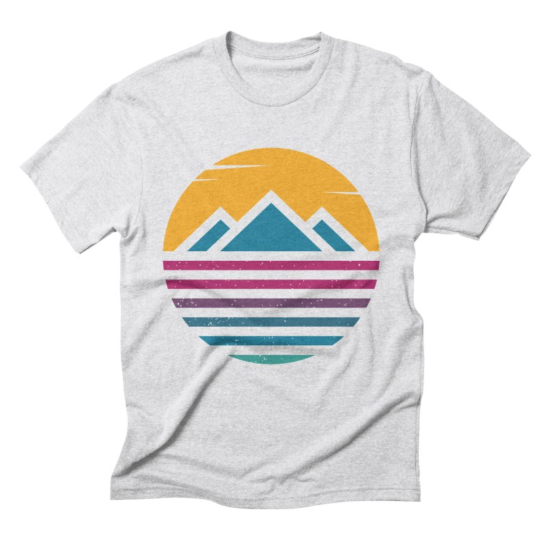 THE SILENT SUNRISE Men's Triblend T-Shirt by EHELPENT