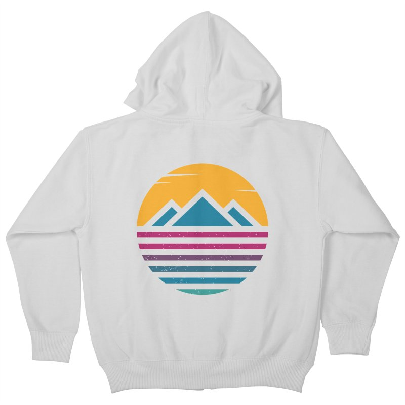 THE SILENT SUNRISE Kids Zip-Up Hoody by EHELPENT