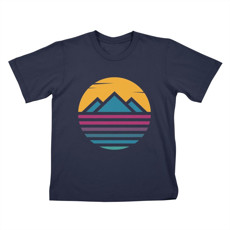 THE SILENT SUNRISE Kids T-Shirt by EHELPENT