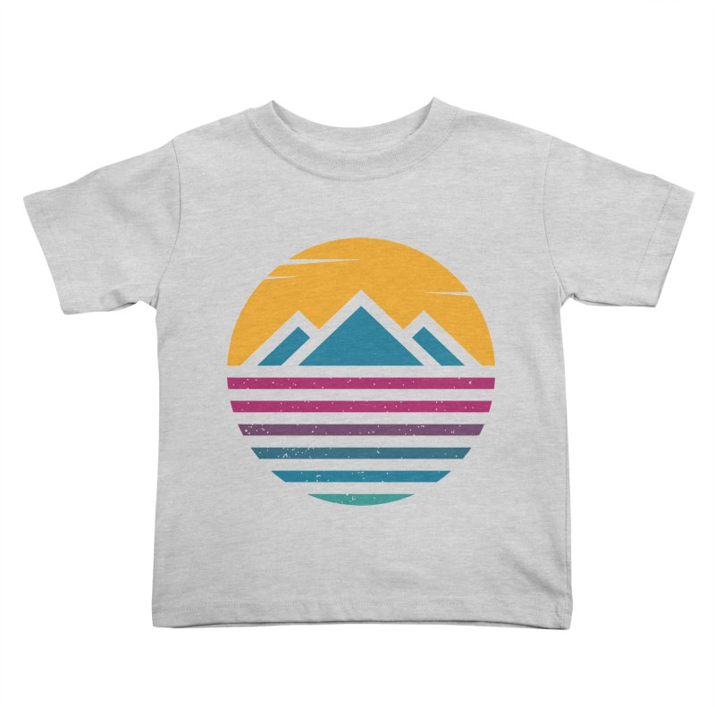 THE SILENT SUNRISE Kids Toddler T-Shirt by EHELPENT