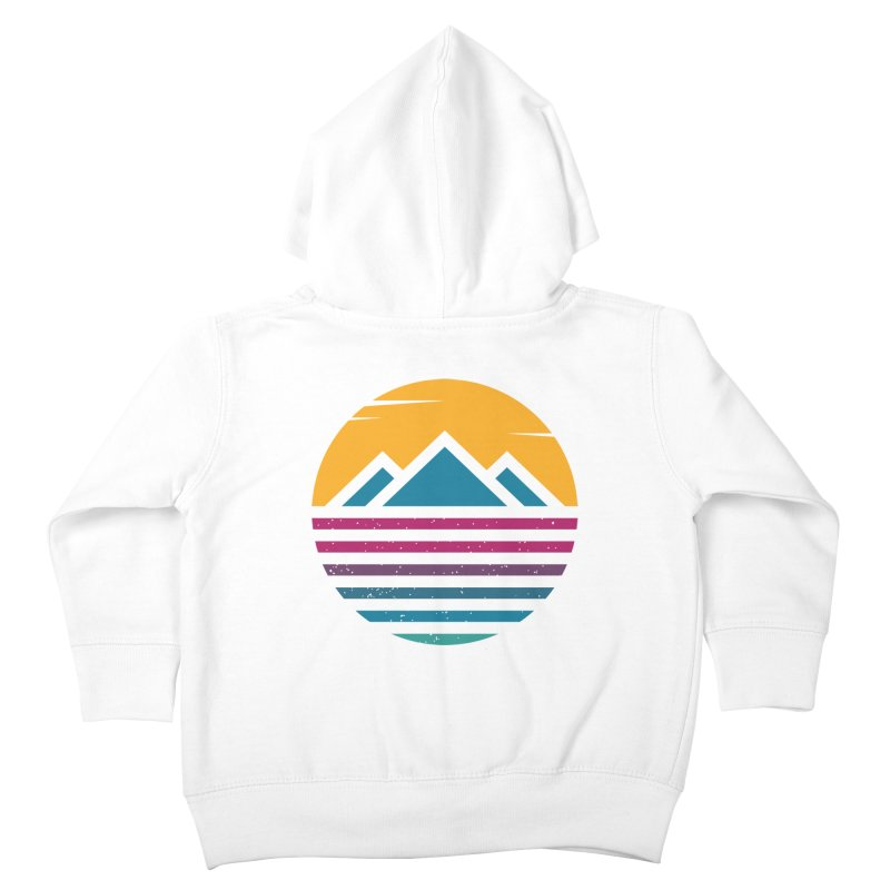 THE SILENT SUNRISE Kids Toddler Zip-Up Hoody by EHELPENT