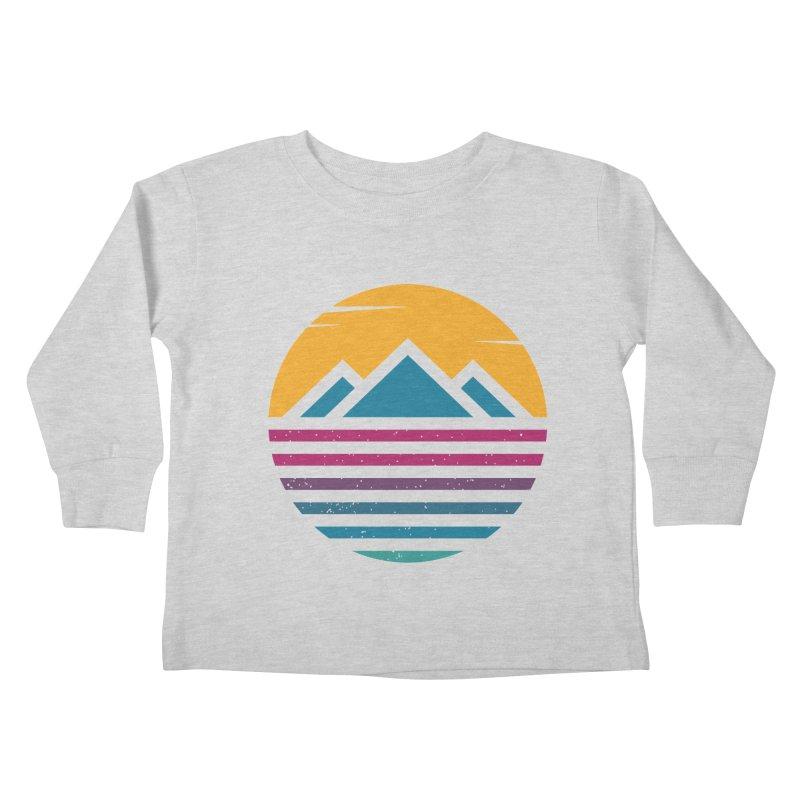 THE SILENT SUNRISE Kids Toddler Longsleeve T-Shirt by EHELPENT