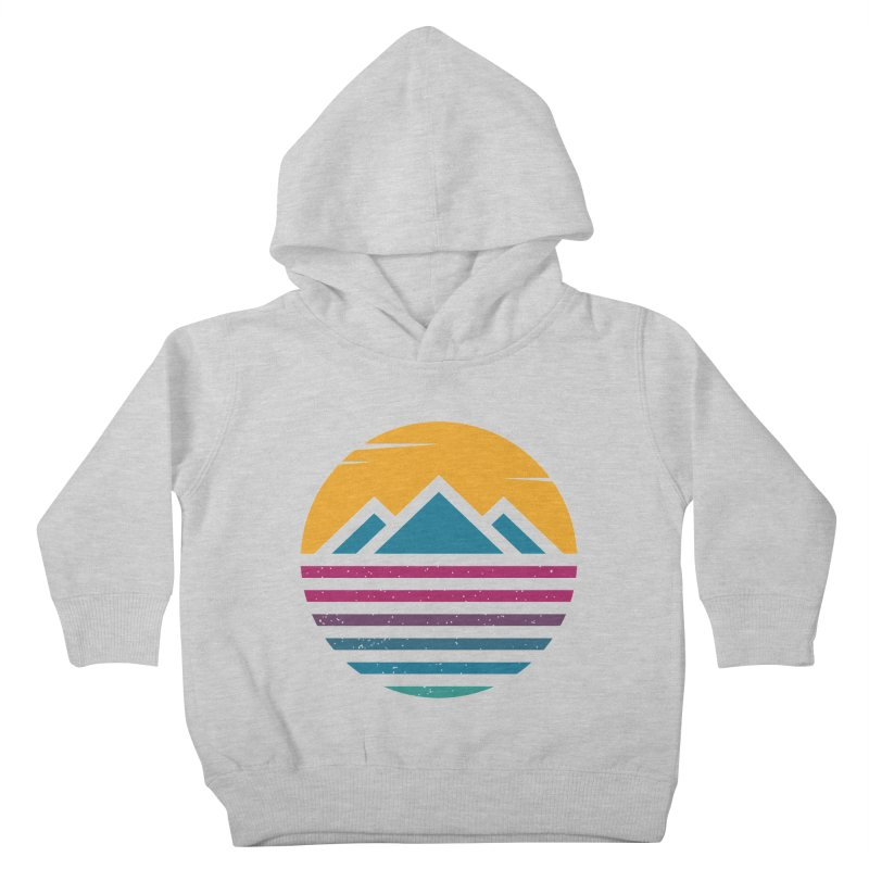 THE SILENT SUNRISE Kids Toddler Pullover Hoody by EHELPENT