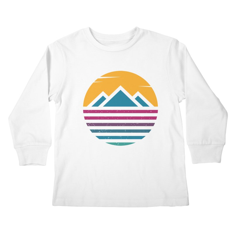 THE SILENT SUNRISE Kids Longsleeve T-Shirt by EHELPENT
