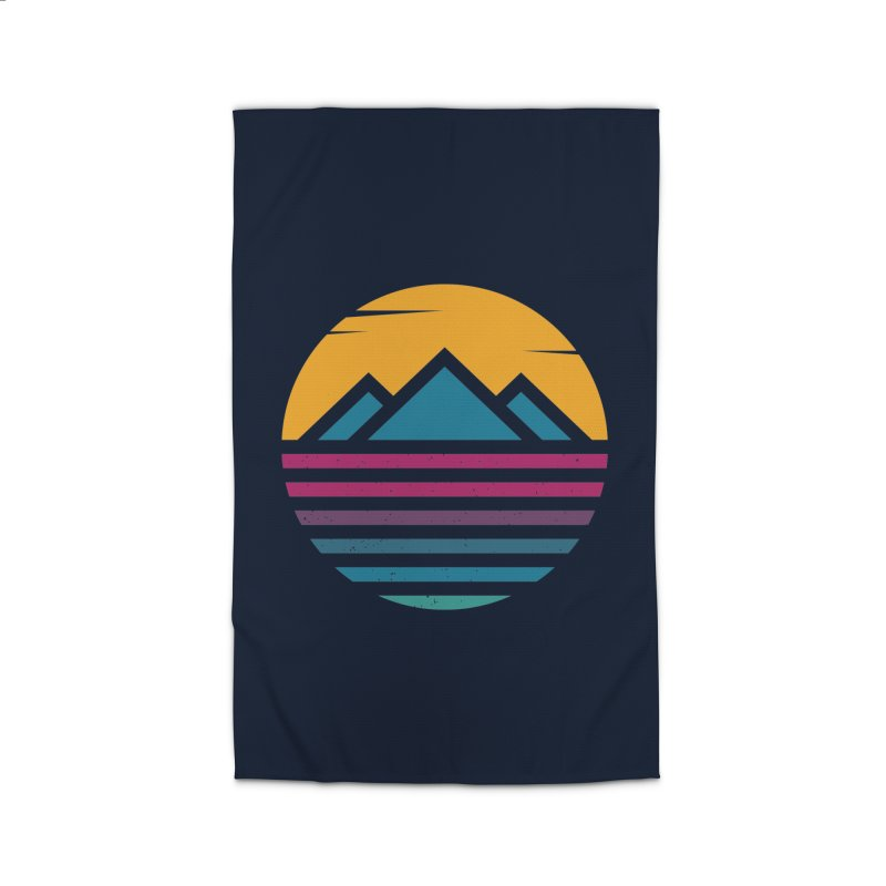 THE SILENT SUNRISE Home Rug by EHELPENT
