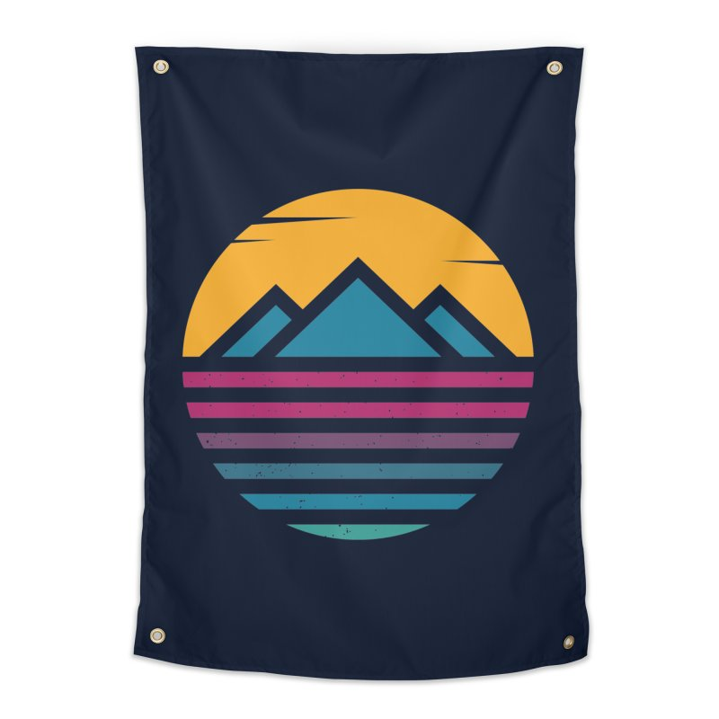 THE SILENT SUNRISE Home Tapestry by EHELPENT
