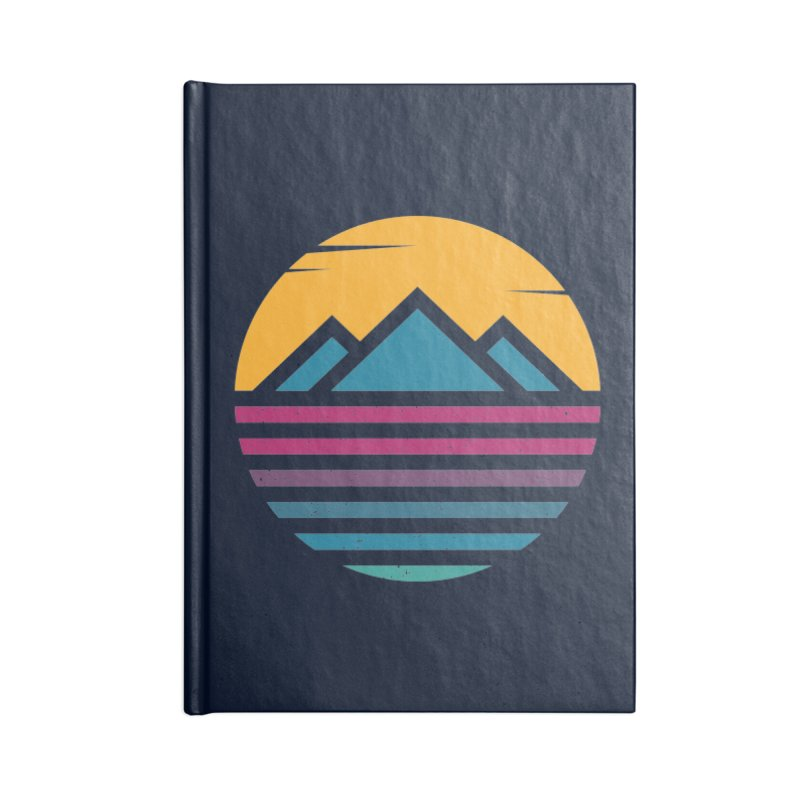THE SILENT SUNRISE Accessories Notebook by EHELPENT