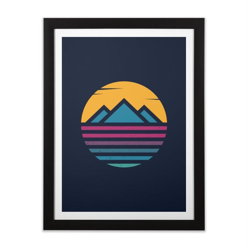 THE SILENT SUNRISE Home Framed Fine Art Print by EHELPENT