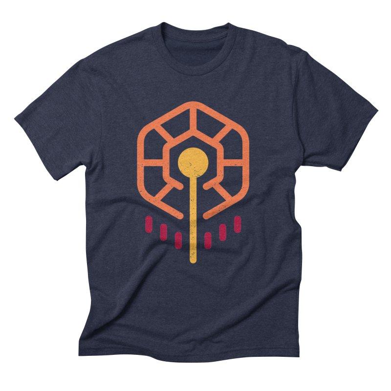 THE RISING FLOWER Men's Triblend T-Shirt by EHELPENT