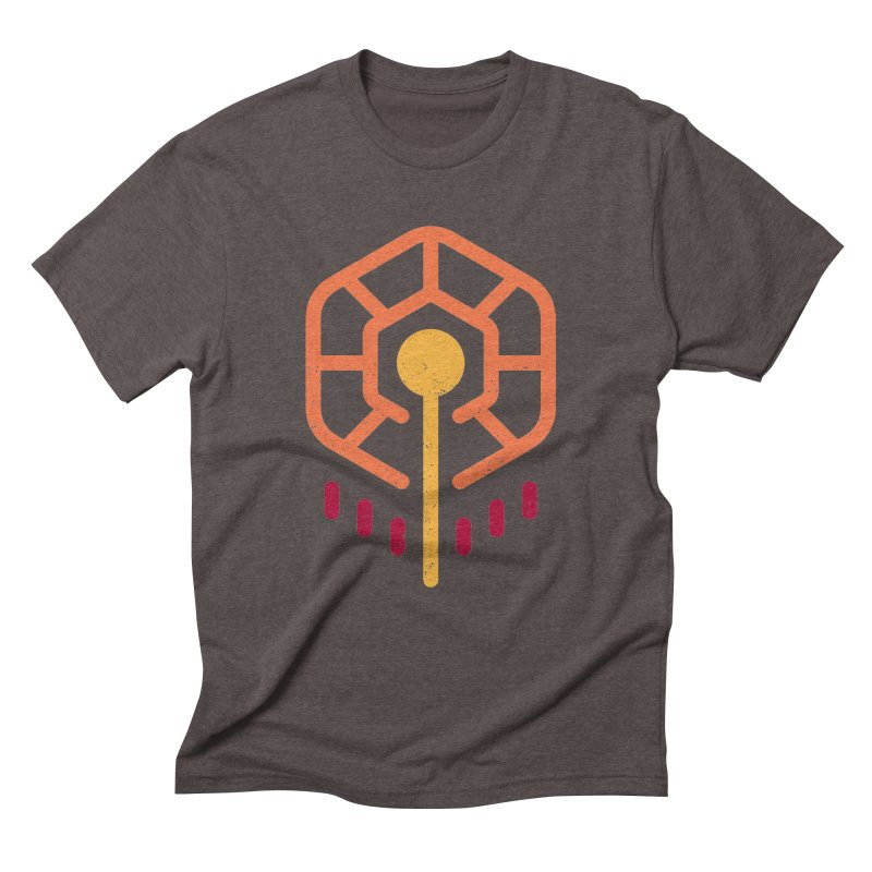 THE RISING FLOWER Men's Triblend T-Shirt by EHELPENT