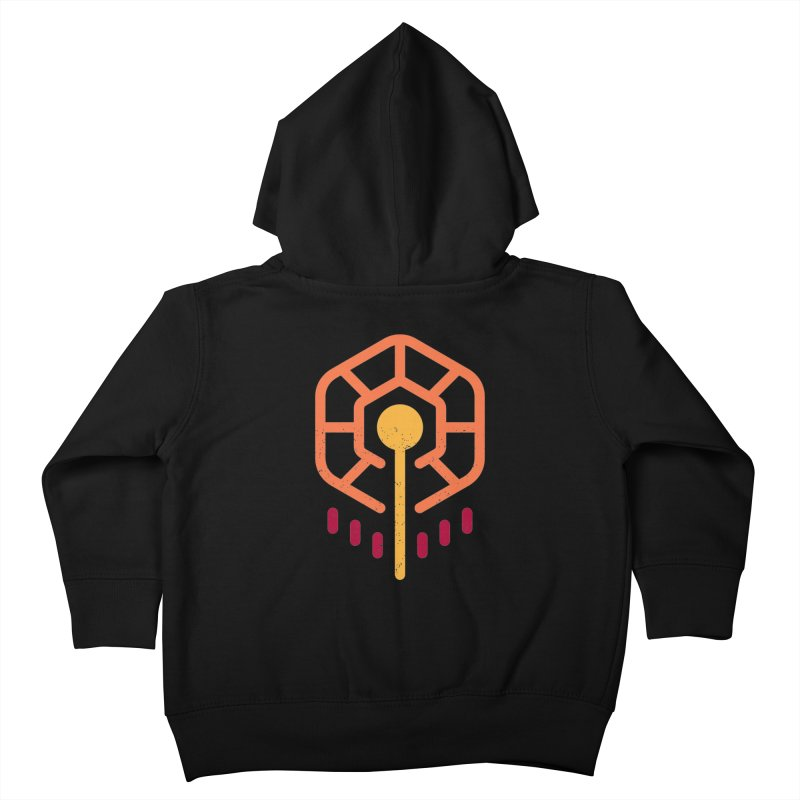 THE RISING FLOWER Kids Toddler Zip-Up Hoody by EHELPENT