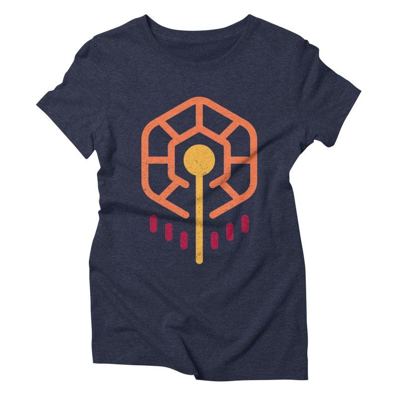 THE RISING FLOWER Women's Triblend T-Shirt by EHELPENT