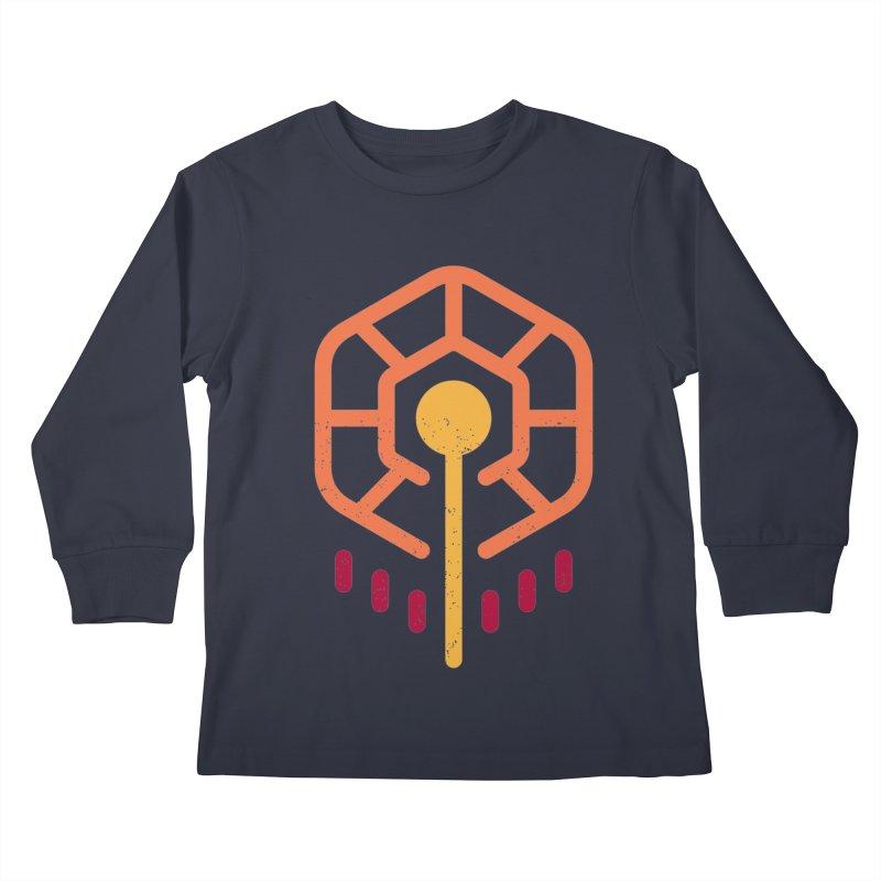 THE RISING FLOWER Kids Longsleeve T-Shirt by EHELPENT