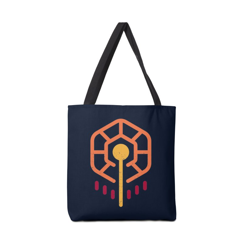 THE RISING FLOWER in Tote Bag by EHELPENT