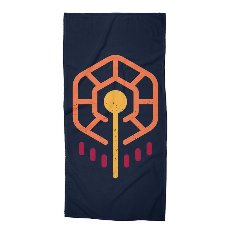 THE RISING FLOWER Accessories Beach Towel by EHELPENT