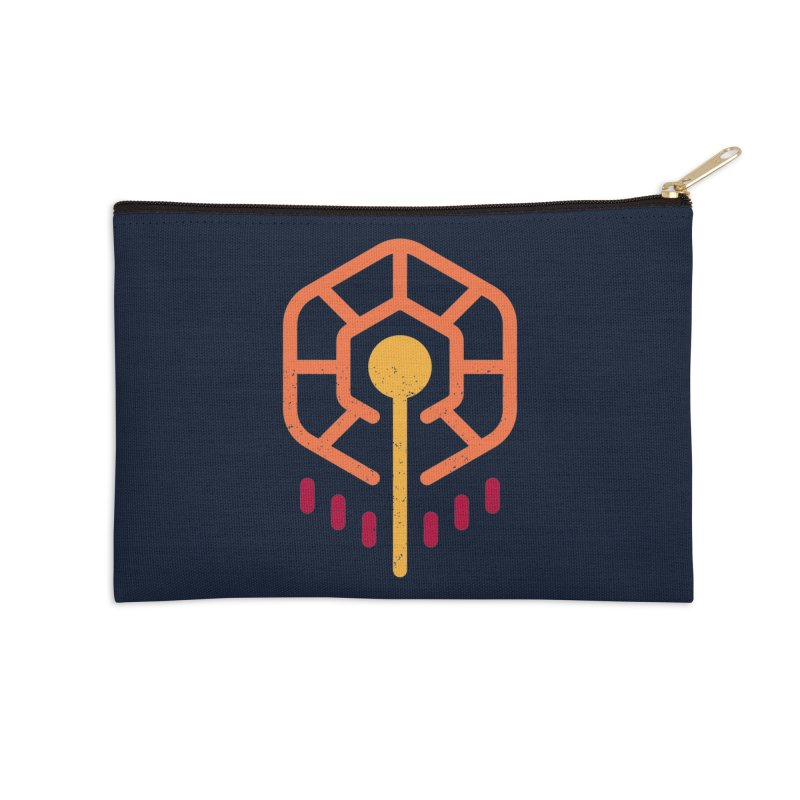 THE RISING FLOWER Accessories Zip Pouch by EHELPENT
