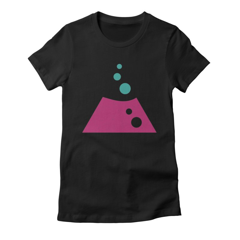 TOP BUBBLES Women's Fitted T-Shirt by EHELPENT
