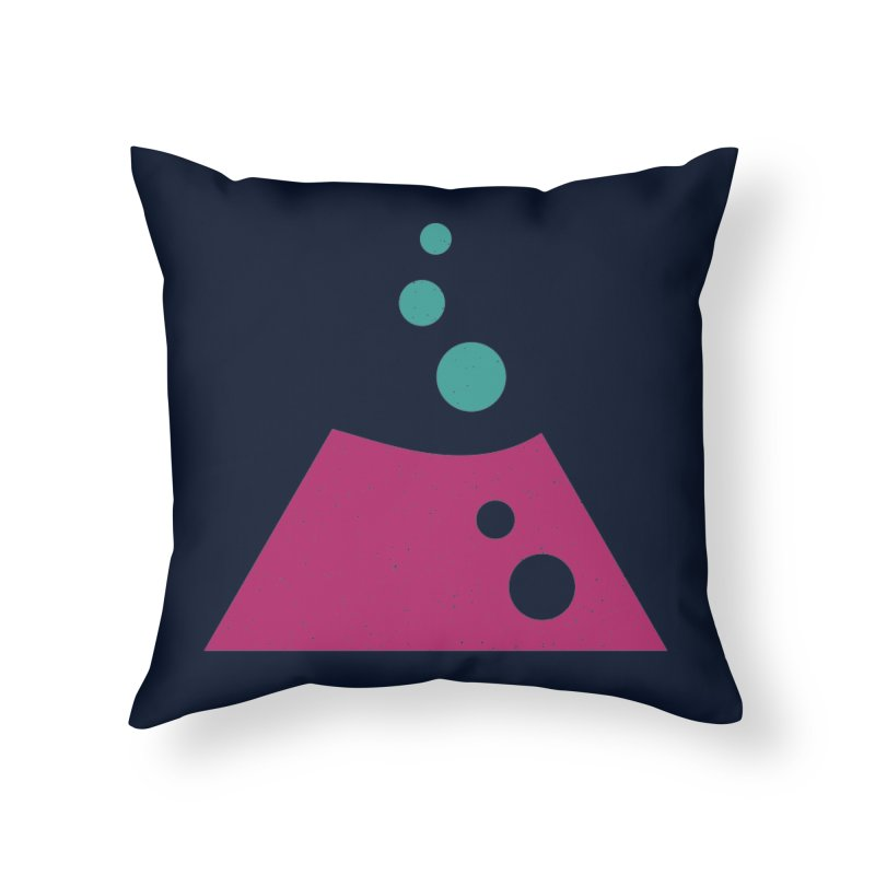 TOP BUBBLES Home Throw Pillow by EHELPENT