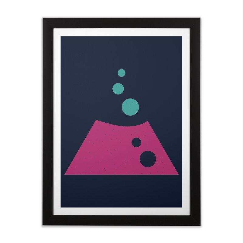 TOP BUBBLES Home Framed Fine Art Print by EHELPENT
