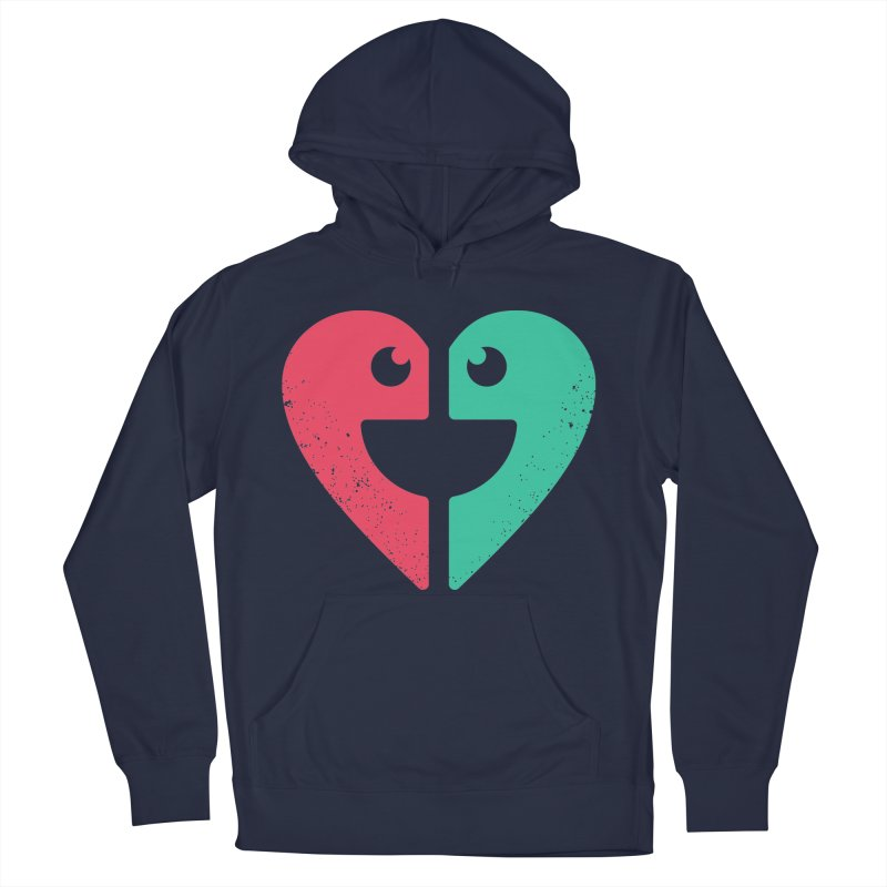 LOVE QUOTES Men's Pullover Hoody by EHELPENT