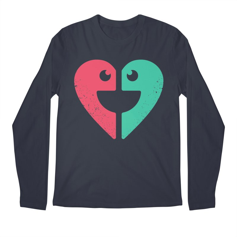 LOVE QUOTES Men's Longsleeve T-Shirt by EHELPENT