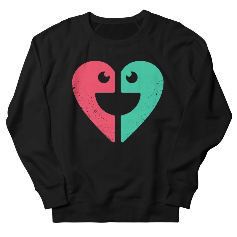 LOVE QUOTES Women's French Terry Sweatshirt by EHELPENT