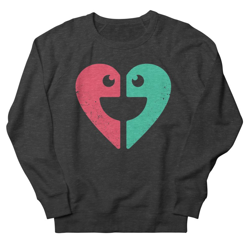 LOVE QUOTES Men's French Terry Sweatshirt by EHELPENT