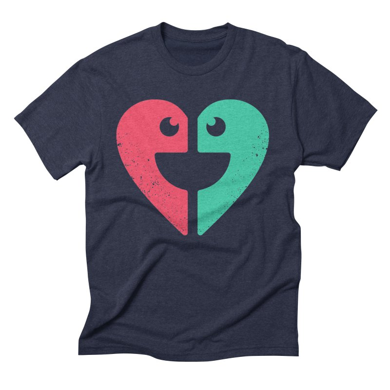 LOVE QUOTES Men's Triblend T-Shirt by EHELPENT