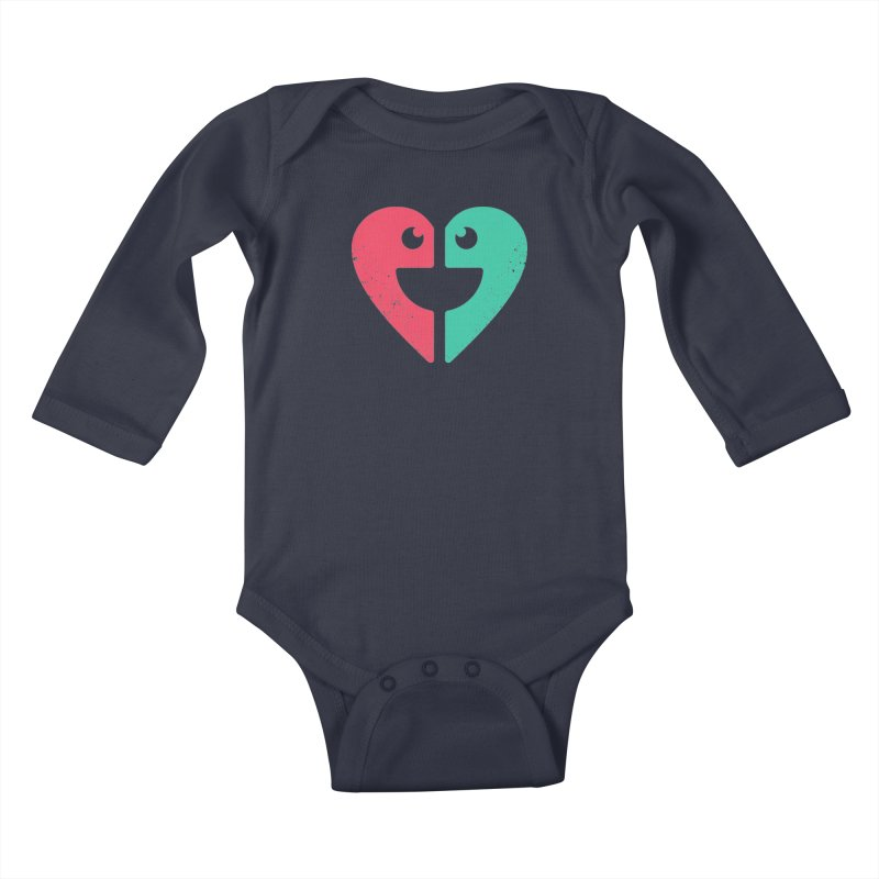 LOVE QUOTES Kids Baby Longsleeve Bodysuit by EHELPENT