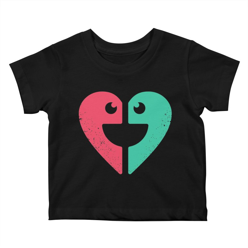 LOVE QUOTES Kids Baby T-Shirt by EHELPENT