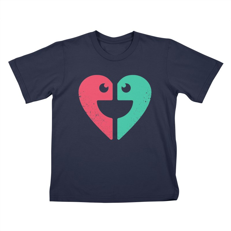 LOVE QUOTES Kids T-Shirt by EHELPENT