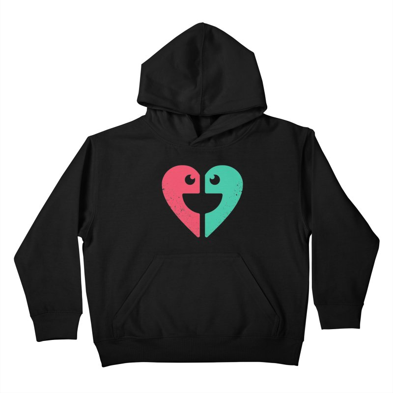 LOVE QUOTES Kids Pullover Hoody by EHELPENT