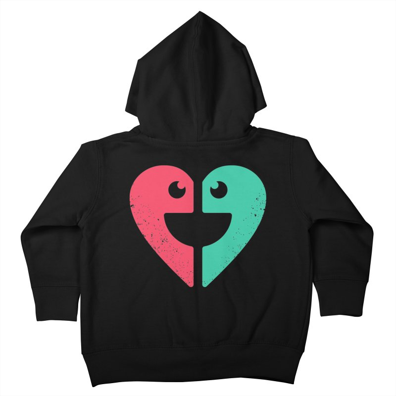 LOVE QUOTES Kids Toddler Zip-Up Hoody by EHELPENT