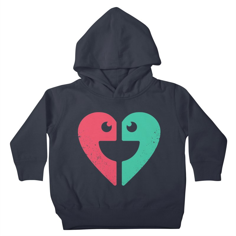 LOVE QUOTES Kids Toddler Pullover Hoody by EHELPENT