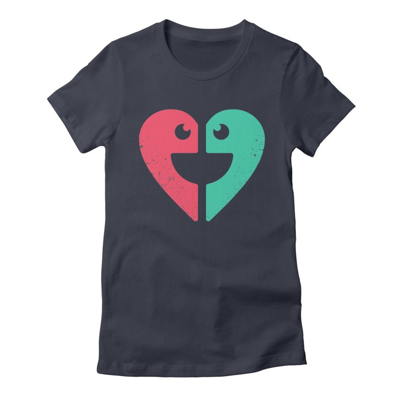 LOVE QUOTES Women's Fitted T-Shirt by EHELPENT