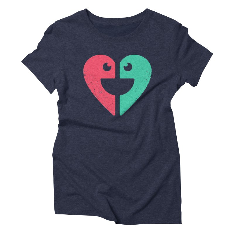 LOVE QUOTES Women's Triblend T-Shirt by EHELPENT