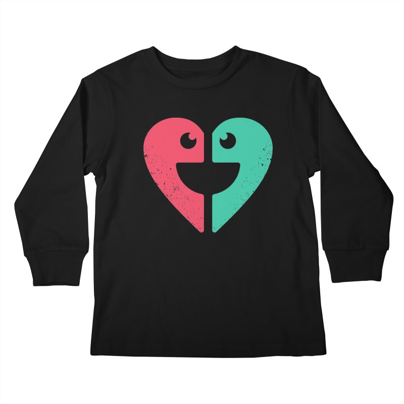 LOVE QUOTES Kids Longsleeve T-Shirt by EHELPENT