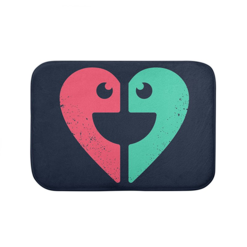 LOVE QUOTES Home Bath Mat by EHELPENT