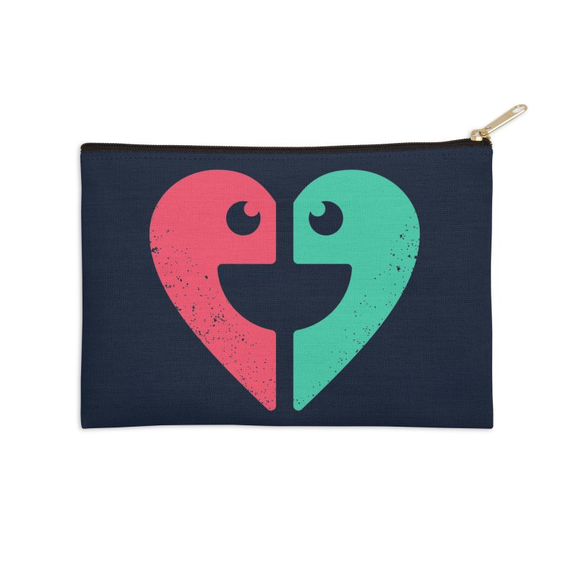 LOVE QUOTES Accessories Zip Pouch by EHELPENT