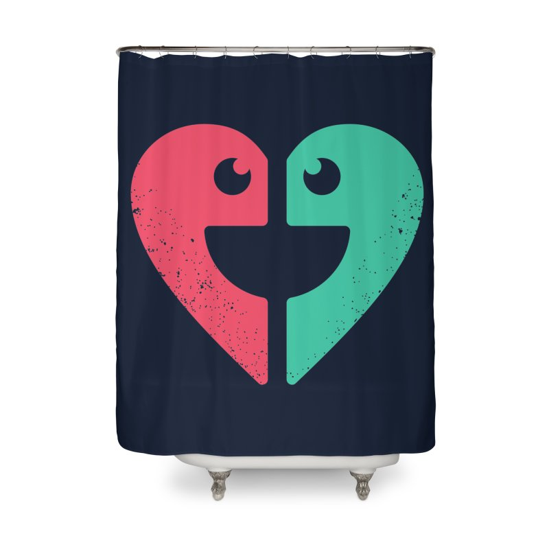 LOVE QUOTES Home Shower Curtain by EHELPENT